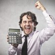 A businessman have already calculated a great busi...