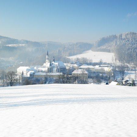 Monastery, Vyssi Brod, Czech Republic