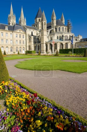 Church of Saint Etienne, Abbaye Aux Hommes, Normandy, France