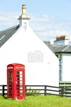 Telephone booth, Laggan, Scotland