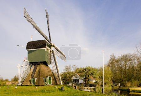 Windmill, Tienhoven, Netherlands