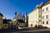 Square of St. Trinity, Banska Stiavnica, Slovakia