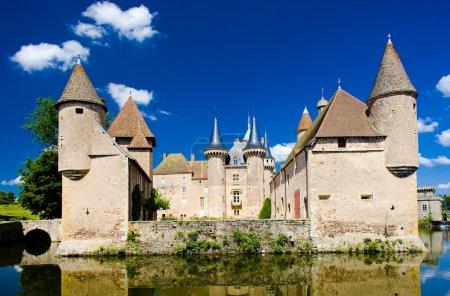 Chateau de la Clayette, Burgundy, France