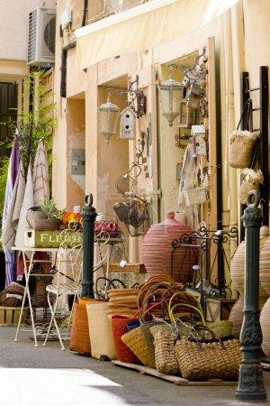 Photo pour Boutique à Aix-en-Provence, Provence, France - image libre de droit