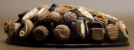 Photo pour Boîte de chocolat - image libre de droit