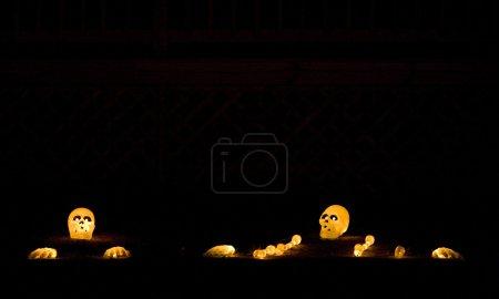 Photo pour Halloween à Machias, Maine, USA - image libre de droit