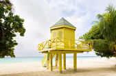 Cabin on the beach, Rockley Beach, Barbados