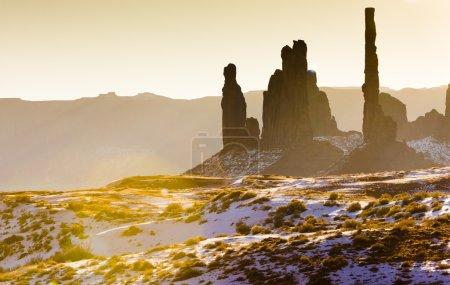The Totem Pole, Monument Valley National Park, Utah-Arizona, USA