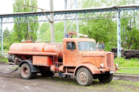 Fire engine, Kolubara, Serbia