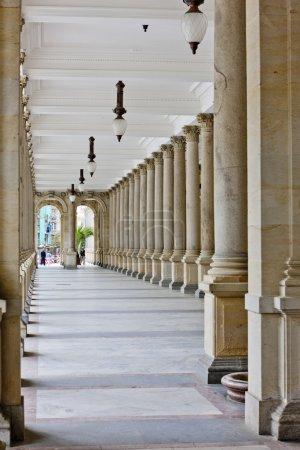 Mlynska Colonnade, Karlovy Vary (Carlsbad), Czech Republic