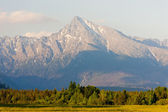Krivan, vysoke tatry (hohe tatra), slowakei