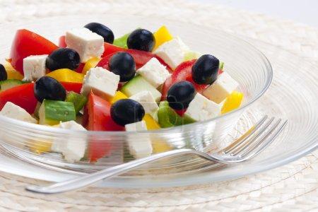 Photo pour Salade grecque - image libre de droit
