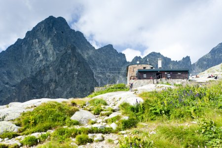 Teryho Cottage and Small Cold Valley, Vysoke Tatry (High Tatras)
