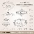 Vector Frame and Ornament Set. Easy to edit. Perfe...