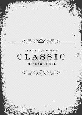Clásico y retro