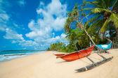 Nedotčené tropické pláži