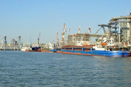 River port.