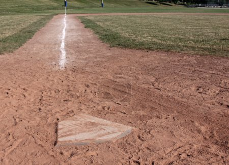 Home Plate Left Side