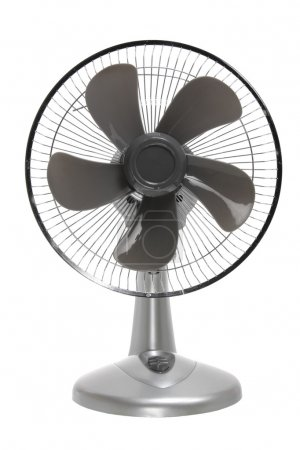 Photo for Electric Fan on White Background - Royalty Free Image