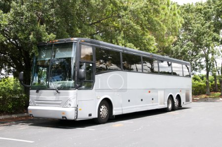 Gray Bus