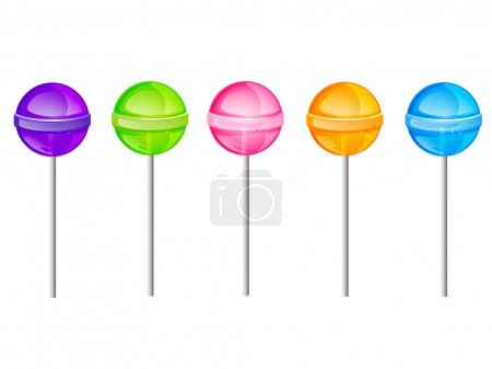 Vector lollipops