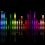 Vector illustration of a music equalizer...