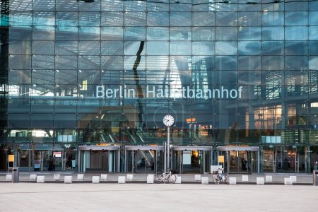 Main train station in Berlin