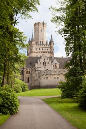 Photo for Photos of Ancient Marienburg Castle, Lower Saxony, Germany,, - Royalty Free Image