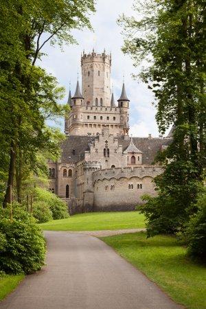 Photo pour Photos de Château de marienburg antique, Basse-Saxe, Allemagne - image libre de droit