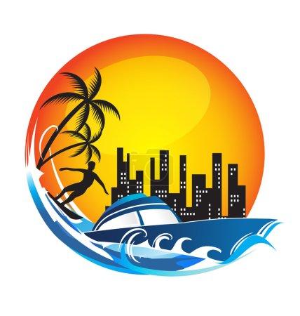 Travel fun Logo