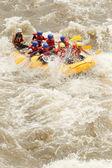 Rafting boat adventure