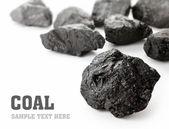 Hrudky uhlí