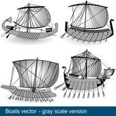 Vector boats 1