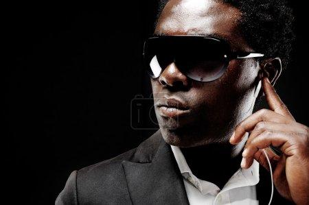 Bodyguard black man