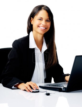 Business office woman