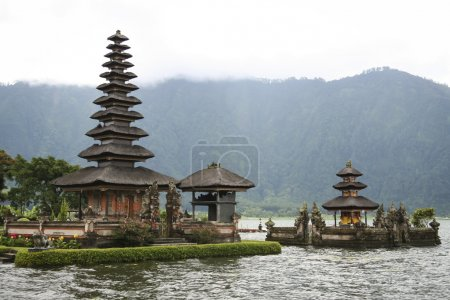 Temple volcan carter lac bali