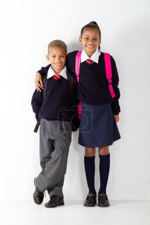 Two primary pupils