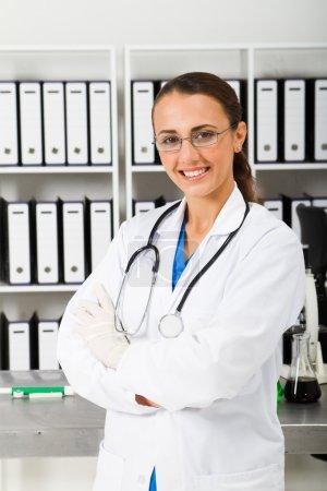 Young medical nurse