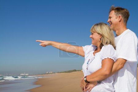 Happy mid age couple