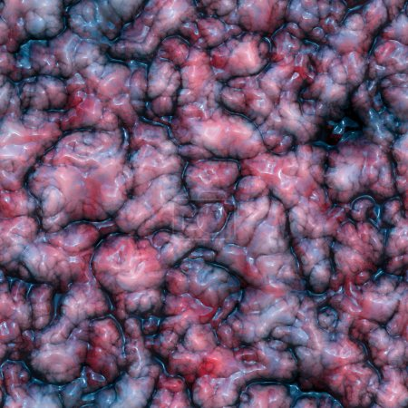 Brain tissue seamless texture