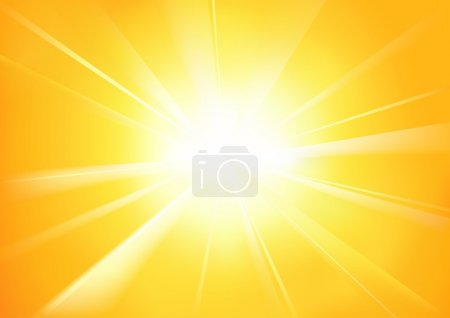 Photo for Sunshine - Abstract Background Illustration - Royalty Free Image