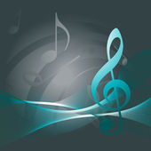 Vector music backgound