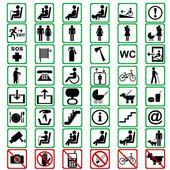 Mezinárodní značky používané v doprava znamená