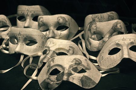 Photo pour Masques mascarade - image libre de droit
