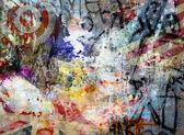 Graffiti pozadí
