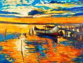 "Постер, картина, фотообои ""Oil painting"""