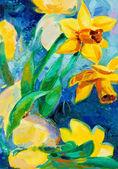 """Постер, картина, фотообои """"Нарцисс Цветы"""""""
