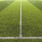 Green color Soccer field