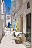Uličky. Ostuni. Puglia. Itálie