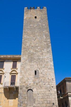 Barucci tower. Tarquinia. Lazio. Italy.